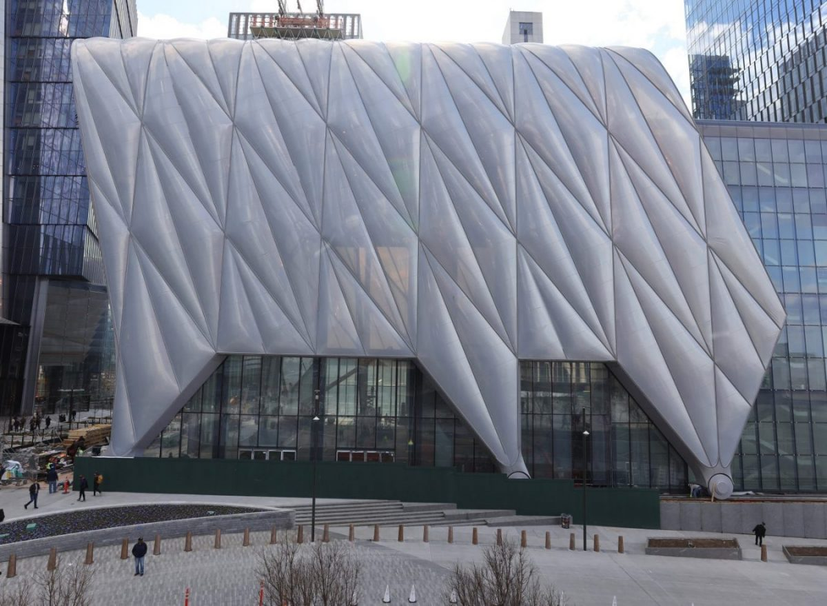 The Shed in New York City Hudson Yards